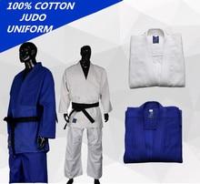 Uniforme de Judo de algodón Unisex, uniforme grueso de Jiu Jitsu Gi, ropa Wushu Kung Fu, para niños y adultos, 450gsm