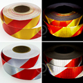 5cmx5m Car decoration Motorcycle Reflective Tape Stickers Car Styling For Automobiles Safe Material Safety Warning Tape