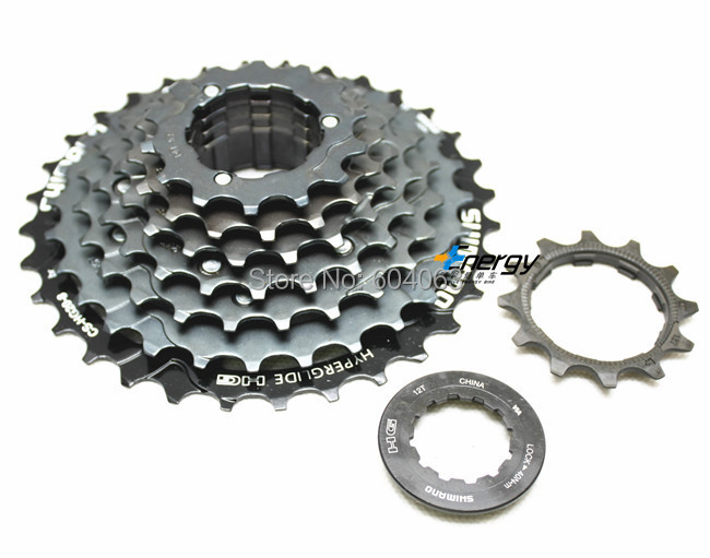 Shimano CS-HG200 8-Speed 12-32t Cassette Black