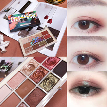 12 Color Waterproof Eyeshadow Pallete Shadow Powder Shimmer Matte Glitter Eyeshadow Palette Cosmetic Makeup Palette Maquillage 18 color glitter eyeshadow palette matte shimmer eyeshadow make up cosmetic eye shadow makeup pallete