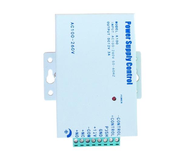 Brand new Em Estoque 12VDC 3A Portátil Mini fonte de Alimentação módulo Para O Sistema de Controle de Acesso Da Porta/Vídeo Interfone LIVRE SHIPING