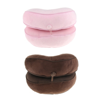 Soft Breathable Memory Foam Donut Ring Waist Cushion Pillow for Office Home Chair Seat Adults