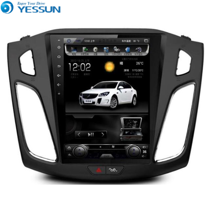 YESSUN Android Radio Car DVD Player For Ford Focus 3 2012~2016 stereo radio multimedia GPS navigation with WIFI Bluetooth FM
