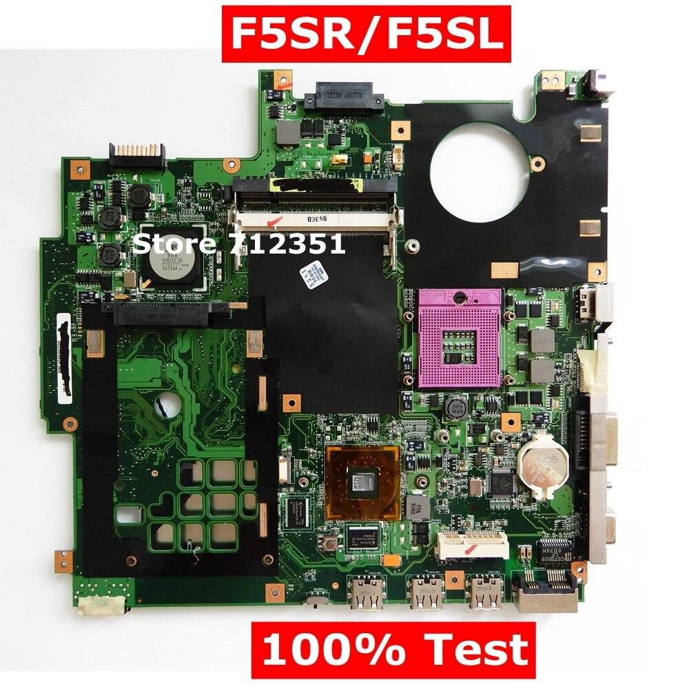 F5SR F5SL HD3470 Graphic Card Mainboard REV2.1 For ASUS F5SR F5SL X59SR X59SL F5Q54SL-SL Laptop Motherboard 08G2005FS21J Test OKF5SR F5SL HD3470 Graphic Card Mainboard REV2.1 For ASUS F5SR F5SL X59SR X59SL F5Q54SL-SL Laptop Motherboard 08G2005FS21J Test OK