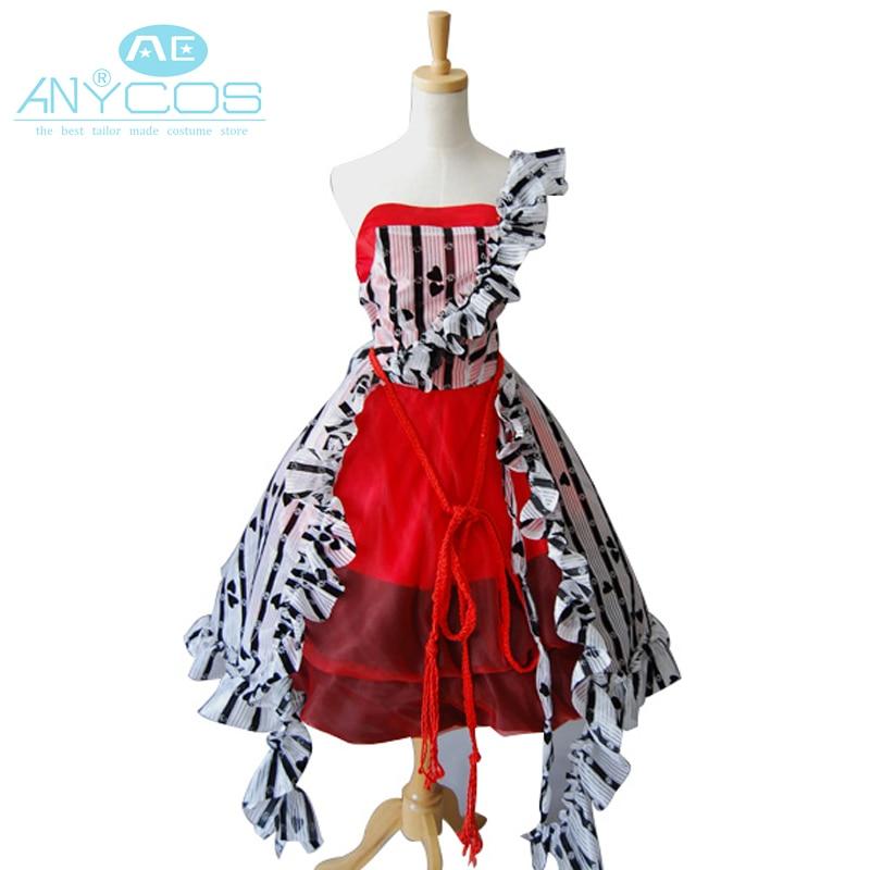 Tim Alice In Wonderland Cosplay Costume Alice Red Court Um Uniform Girls Dress Halloween Cosplay Costumes For Women Custom Made