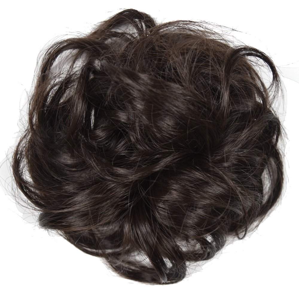 Topreety Heat Resistant Synthetic Hair Extension Curly Chignon With