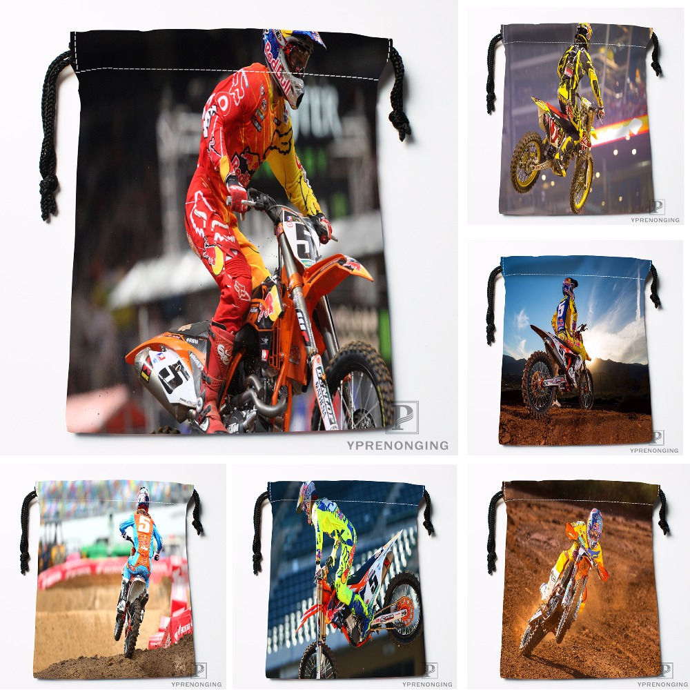 Custom Ryan Dungey Drawstring Bags Printing Travel Storage Mini Pouch Swim Hiking Toy Bag Size 18x22cm#180412-11-32