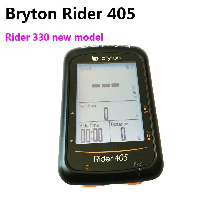 Bryton Rider 405 Rider 330 nuovo modello di GPS Cycling Computer Abilitato Bicicletta del calcolatore Della Bici Impermeabile senza fili pk Garmin Bordo