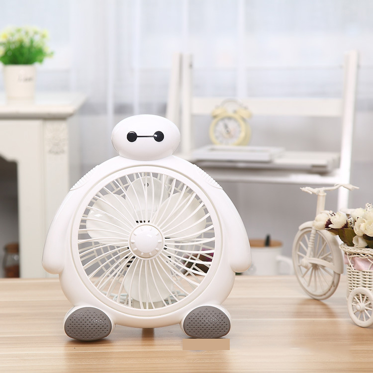 ФОТО 2017 New Arrival 2 Gear Fan Big Fan Volume Cooling Ventilador Air Conditioner Household BayMax Style Appliance