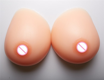 Big Promotion Crossdresser Drag Queen Silicone Boobs 2400g/pair Big Artificial Silicone Tits Breast Forms Fake Breast