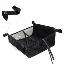 Нижняя корзина большой емкости универсальная детская коляска Открытый органайзер с струнами легко использовать коляска сумка для хранения аксессуары