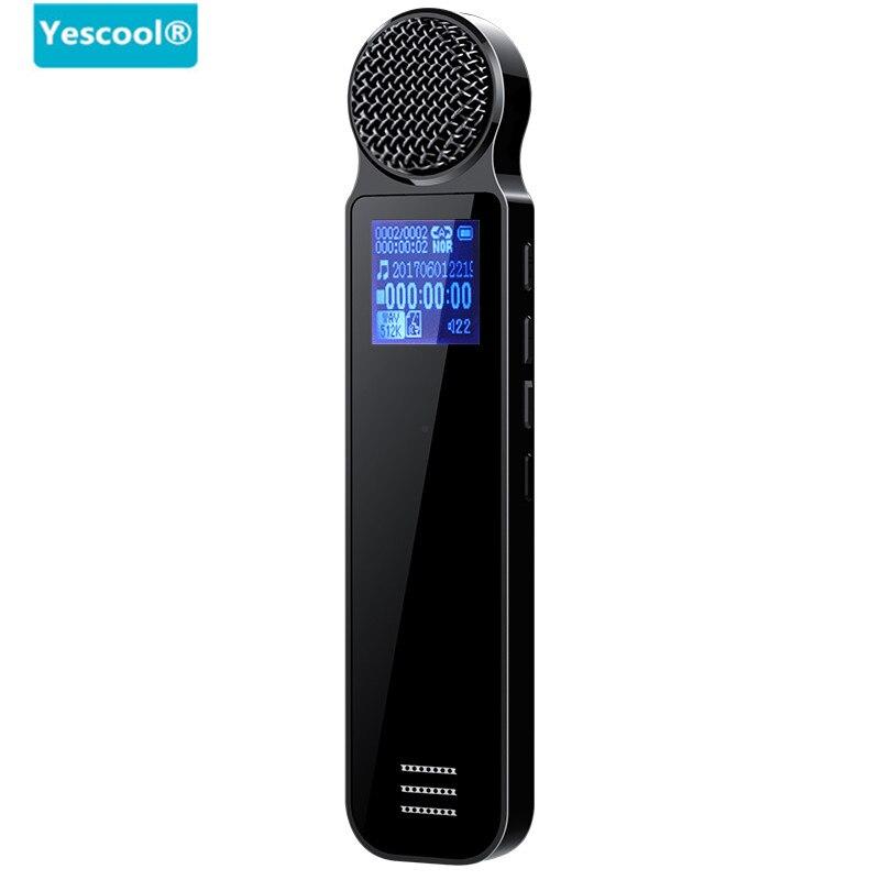 Mini enregistreur vocal numérique K606 enregistreur USB professionnel Dictaphone stylo vocal numérique activé par la voix lecteur MP3 haut-parleur