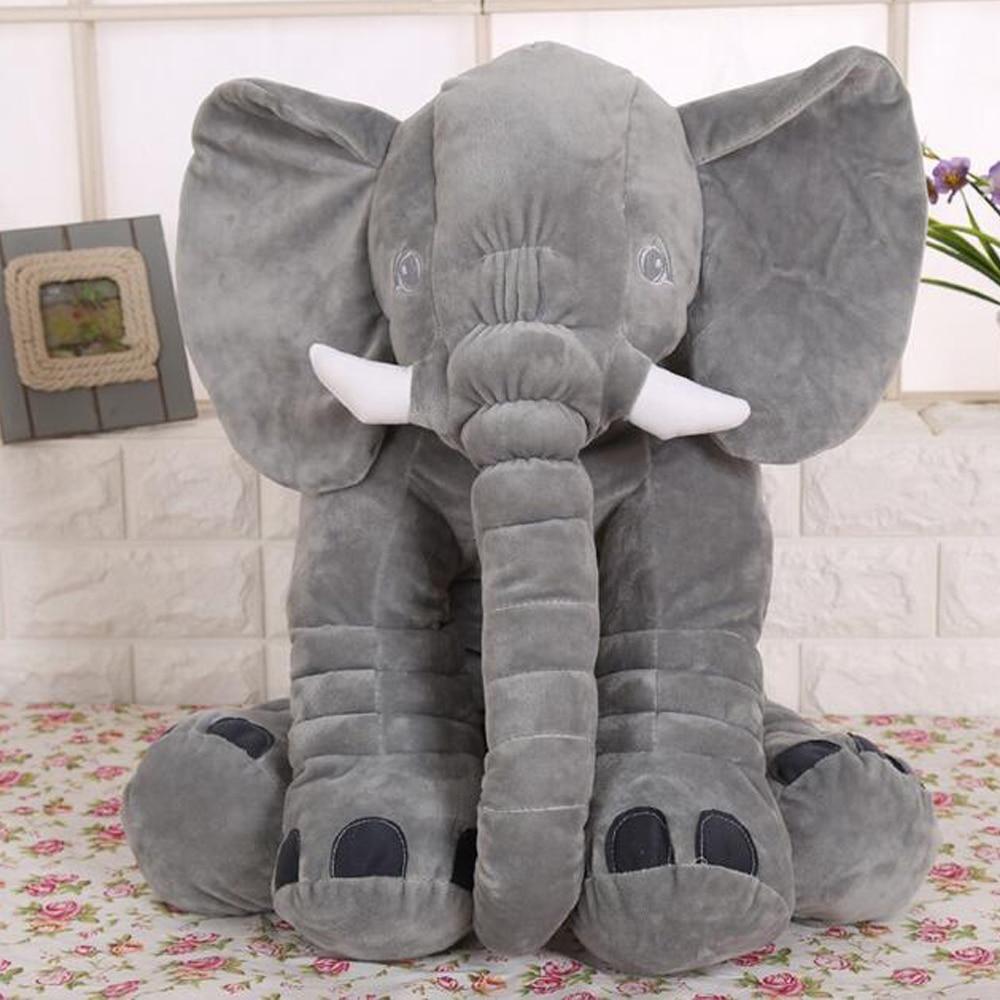 60cm Elephant Plush Toys For Kids Large Animal Elephant