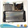 Черный/Белый/Золото Оригинальный Новый Передняя Ближний ЖК рамка Передней Панели Корпуса Для SONY Xperia M5 E5603 E5606 E5653 замена