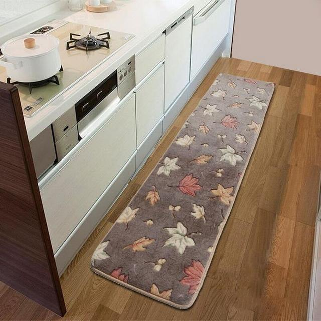 50X200CM Strip Carpets For Bedroom Living Room Rugs And Carpets Coral  Velvet Non Slip Kitchen Mat/Bath Mat Bedside Area Rugs In Carpet From Home  U0026 Garden On ...