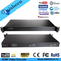 MPEG 4 AVC/H.264 4K UHD 2 channel HDMI Encoder Replace HD Video Capture Card Youtube Facebook Ustream Stream Encoder
