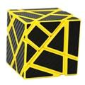 2016 Novo Fantasma Fangcun Cubo 3x3 (Azul Rosa Preto Amarelo Cor, montado sem stickering) Magic Enigma do cubo Brinquedos Stickers3x3x3
