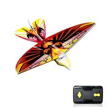 Funny RC Flying Bird Toy 2.4 GHz Remote Control E-Bird Electronic Mini RC Flying Bird RC Drone Helicopter 235 * 275 * 70mm недорого