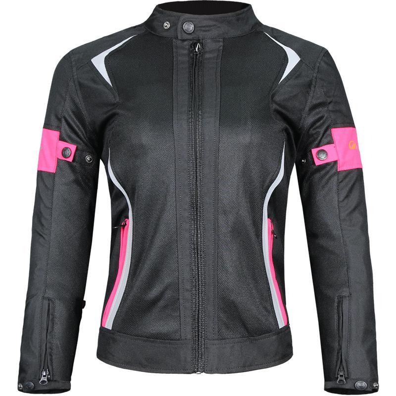 Veste de moto femmes respirant Mesh Touring moto équitation hauts Motocross course équipement de Protection Protection taille M-3XL r25
