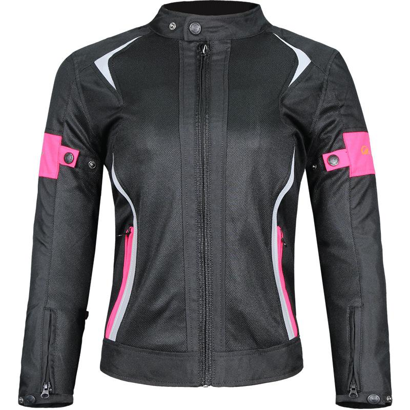 Veste de moto femmes respirant maille veste moto Motocross course équipement de protection protection coupe-vent vêtements d'équitation