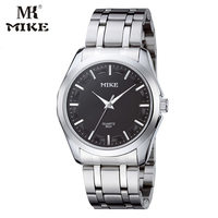 MK Mike Classic Watch Mens Watches Quartz Watch Stainless Steel Water Resistant Men Horloges Mannen Reloj
