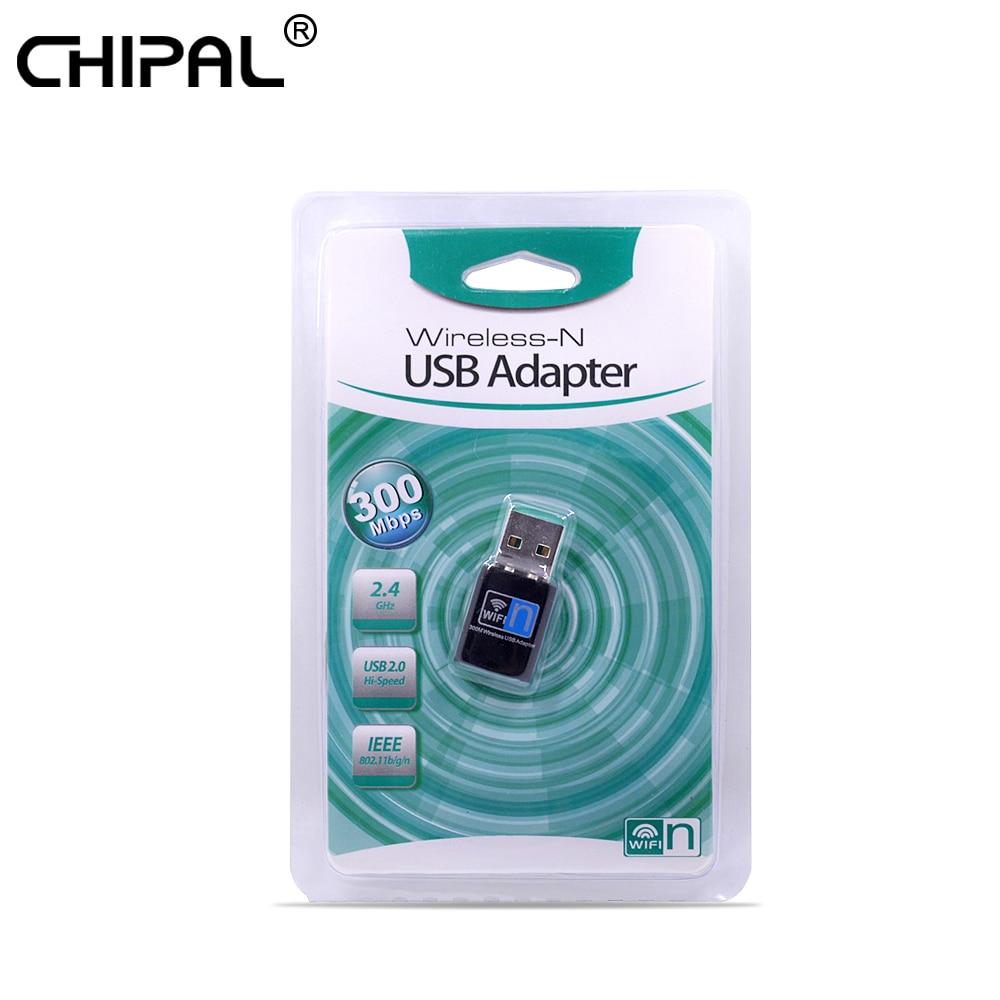 300Mbps Mini USB WiFi Wireless Adapter 802.11 B//G//N Network Card LAN for PC Computer Desktop