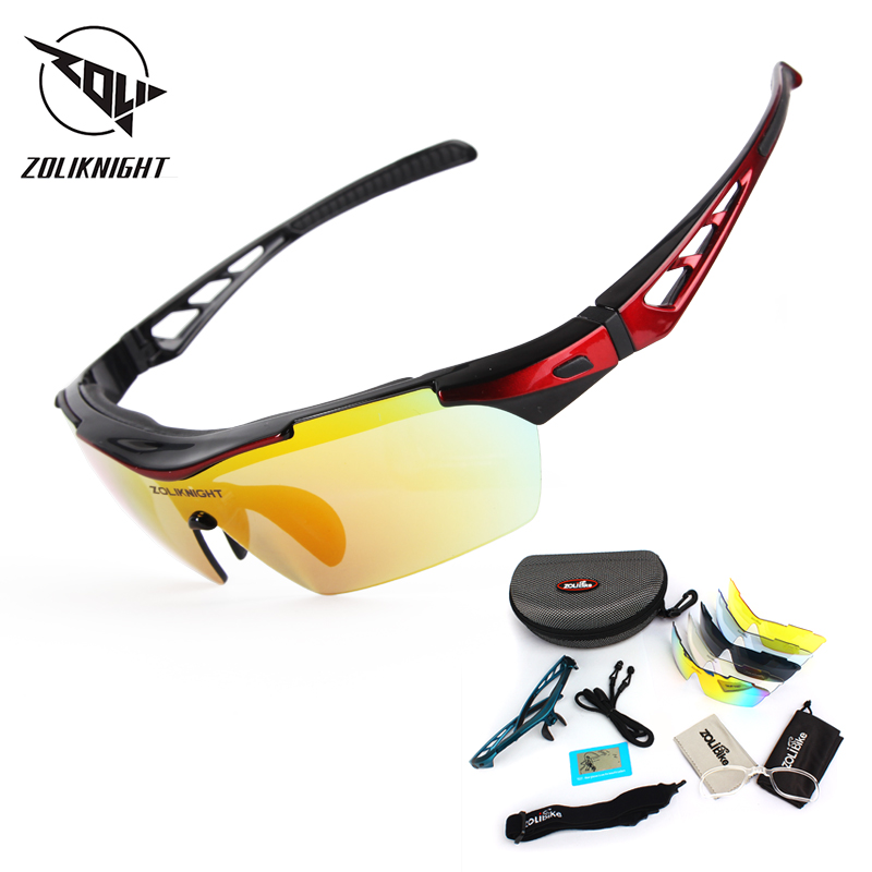 New Polarized Cycling Glasses UV400 Protect Sunglasses Bicycle Men Women Running Cycling Fishing Bike Eyewear 5 Len Goggles TR90
