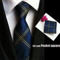 Paisley mens fashion vestido de jacquard de poliéster gravata de seda laços para homens gravatas de negócios gravata casual tie handkerchief set TZ001