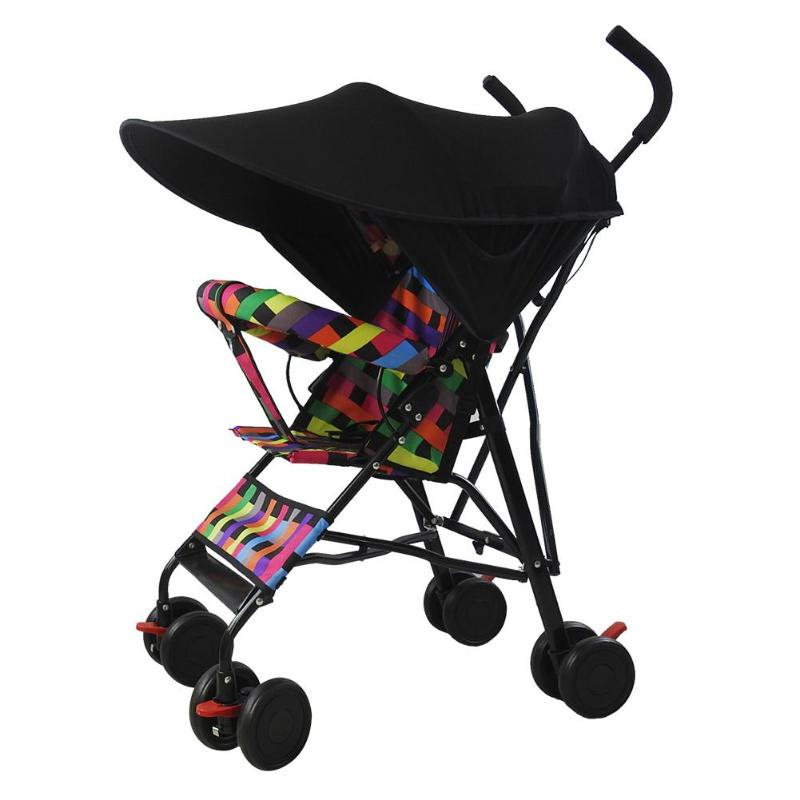 Baby Stroller Sun Visor Carriage Sun Shade Canopy Cover for Prams Stroller Accessories Car Seat Buggy Pushchair Cap Sun Hood