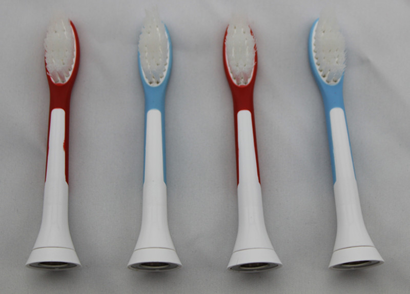 4pcs=1 pack Kids Children electric toothbrush heads replacement for Philip Sonicare P-HX-6044  HX-6044 2pcs philips sonicare replacement e series electric toothbrush head with cap
