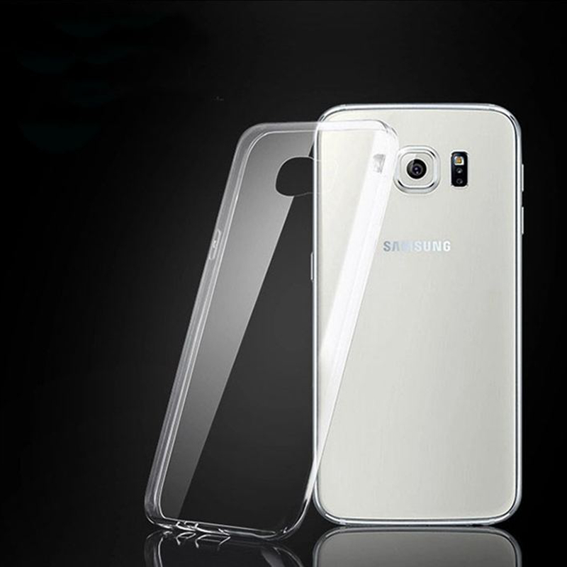 Transparent Clear Soft TPU Case Cover For Samsung Galaxy S3 S4 S5 S6 S7 edge G530H i9060 G355H G360H G850F G7106 Note 2 3 4 5