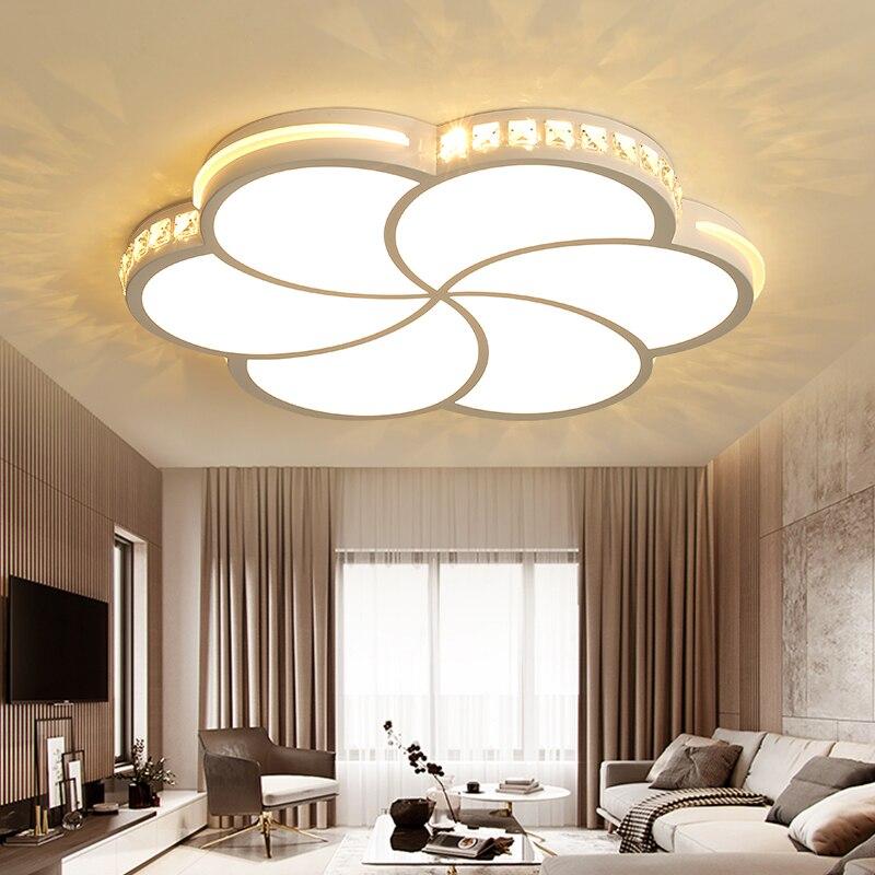 Moderne led lustres pour salon chambre salle à manger acrylique Intérieur maison lustre led lustre lampe luminaires