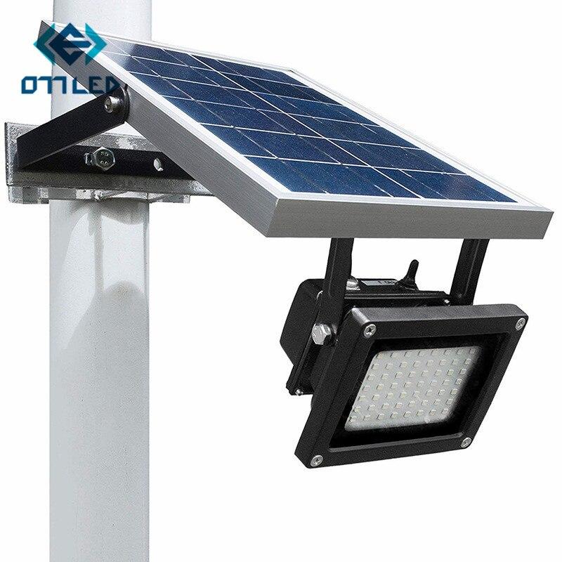 All Metal IP65 Waterproof 54LED Solar LED Floodlight