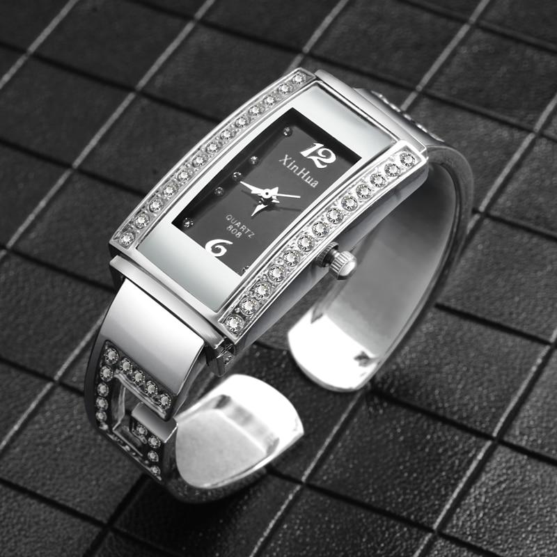 2019 Relogio Feminino Top Luxury Diamond Bracelet Watch Women Watches Steel Bangle Women's Watches Ladies Watch Clock Bayan Saat