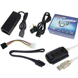 Image 1 - USB לide & USB כדי SATA כבל & ממיר קשיח חיצוני כונן אופטי כונן כונן USB כדי סידורי/יציאת מקבילית כבל 1 חליפה