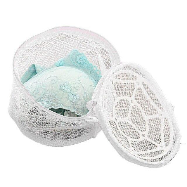 Saco da Lavanderia Do sutiã Lingerie Nova Roupa Interior Bra Sock Saco Zip Malha Subiu Sutiã Lavanderia Ajuda Lavagem Net # LL