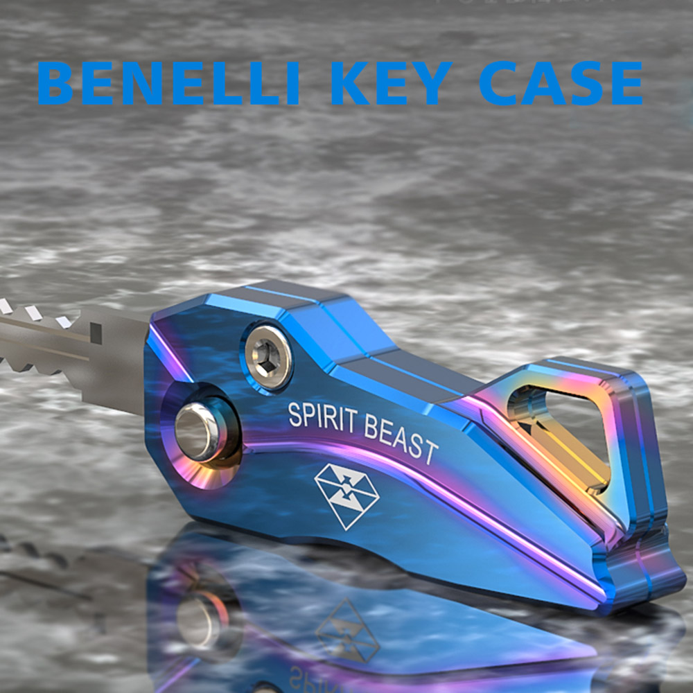 SPIRIT BEAST CNC Aluminum Alloy Motorcycle Key Case Shell Cover For Benelli