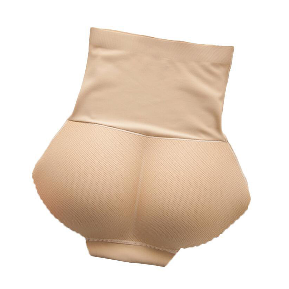 Sexy Boyshort mujer falso culo acolchado bragas mujeres cuerpo moldeador trasero levantador cadera realzador bragas sin costuras