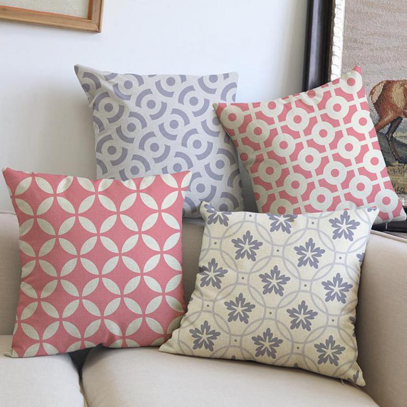 Circle Decorative Pillows
