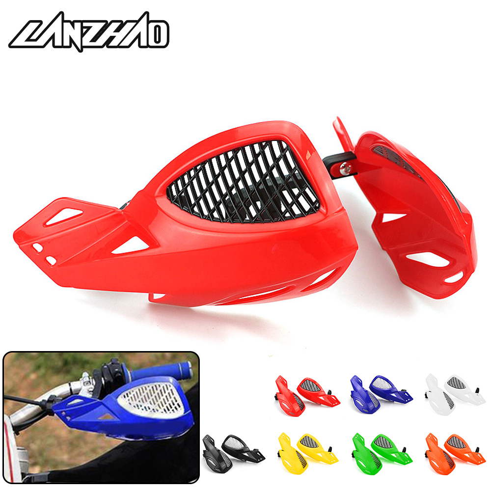 Motorrad Hand Guards <font><b>Motocross</b></font> Pinsel Bar MX Dirt Pit Bike Off Road Racing ATV <font><b>Quad</b></font> KLX RMZ CRF YZF SX EXC XCW SMR Protektoren image
