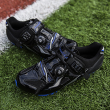 Breathable Mesh Men Black Road Bike Shoes for Cycling Ultralight Non-Lock Non-slip Mountain Bicycle Racing Sneaker