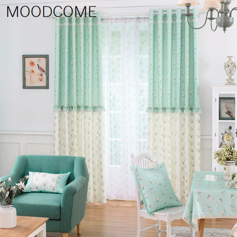 Korean Curtains For Living Dining Room Bedroom Style Fresh