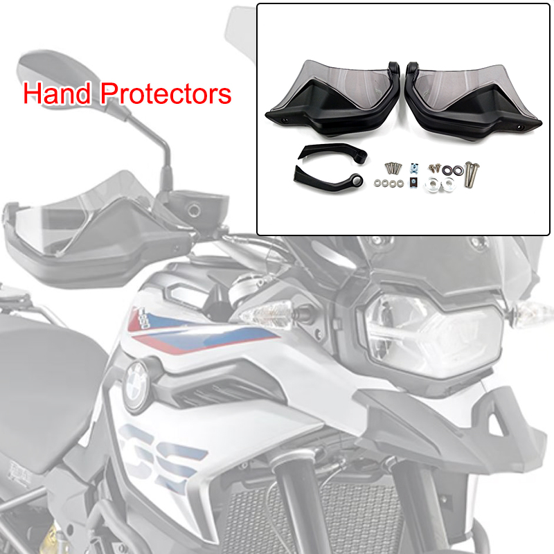 F750GS F850GS F 750 GS F 850 GS Hand Guard Extensions Brake Clutch Levers Protector Handguard Shield for BMW 2018  F750GS F850GS-in Covers & Ornamental Mouldings from Automobiles & Motorcycles