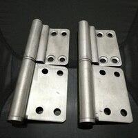 Room Door 304 Stainless Steel Hinge Detachable Hinges 102 42MM X 2