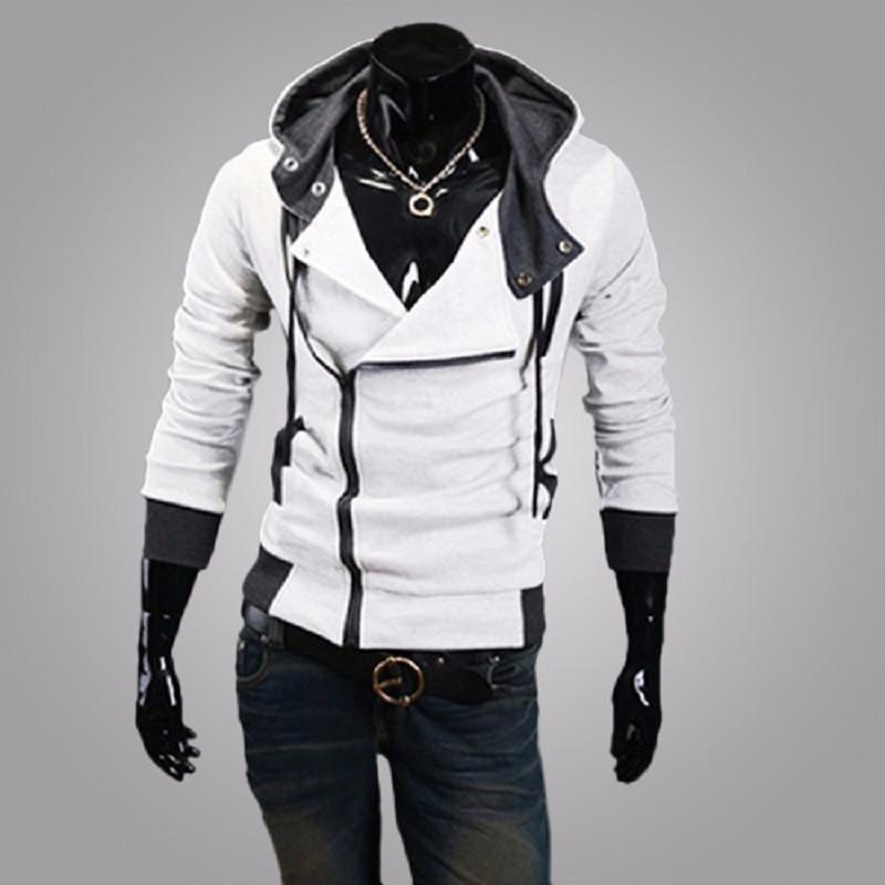 New Fashion Casual Men Hoodies Sweatshirt Male Tracksuit Hooded Jacket Casual Sports Male Hooded Jackets Moleton Assassins Creed2
