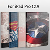 For Apple Ipad Pro Case Hard Plastic Stand Ultra Thin Slim Cover Luxury Colorful Cartoon Flip