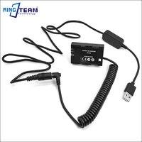 DC 5V USB Cable LP E6 DR E6 DRE6 DC Coupler For Canon EOS 5D2 5D3