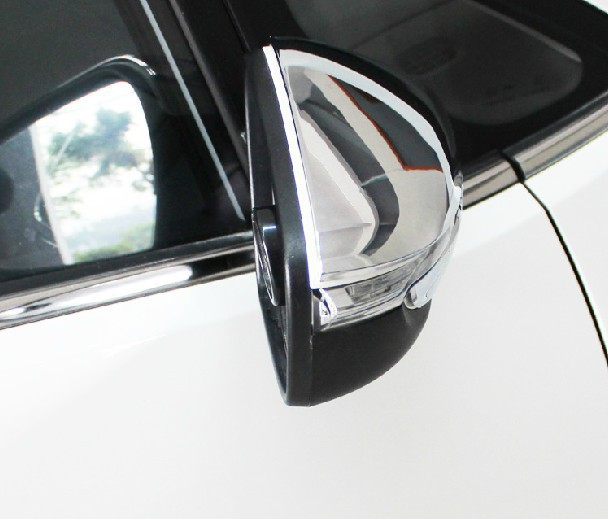 ABS <font><b>Chrome</b></font> Rearview <font><b>mirror</b></font> cover Trim/Rearview <font><b>mirror</b></font> Decoration For 2013 <font><b>KIA</b></font> Cerato/K3 KPTR image