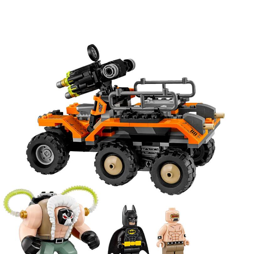 Lepin 07081 Creative Series ben's Highly toxic truck attack Boys Educational Building Blocks Toys For Children 70914 8 in 1 military ship building blocks toys for boys