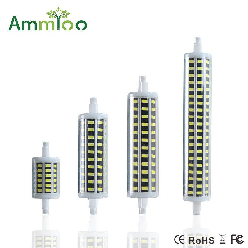 Ammtoo r7s led light bulb smd5730 led lamp bombillas 5w for Led r7s 78mm 20w